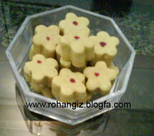 طرز تهیه نان نخودچی شیرینی مخصوص عید آموزش تصویری و مواد